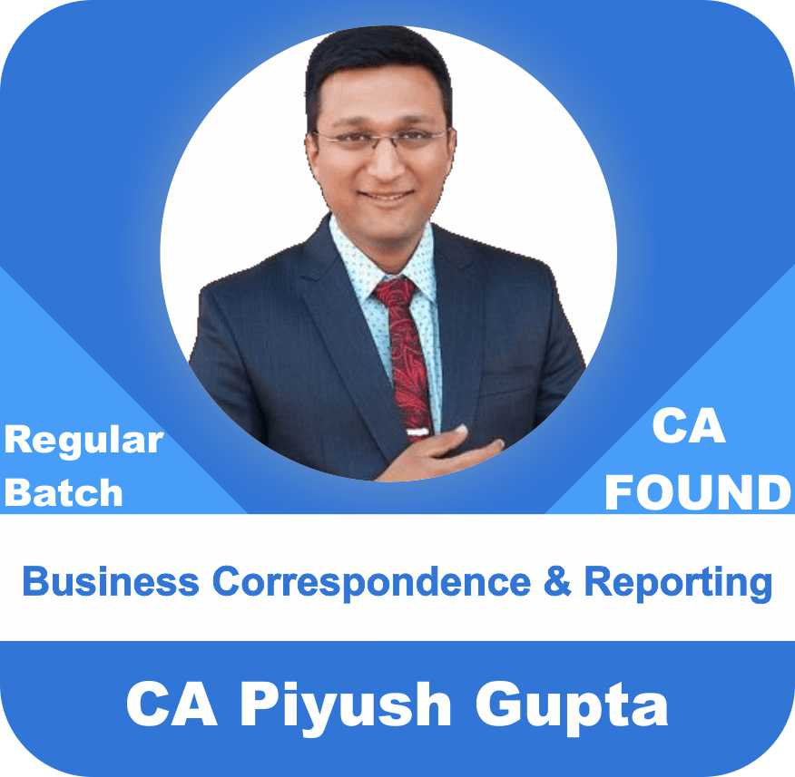 Business Correspondence & Reporting Regular Batch