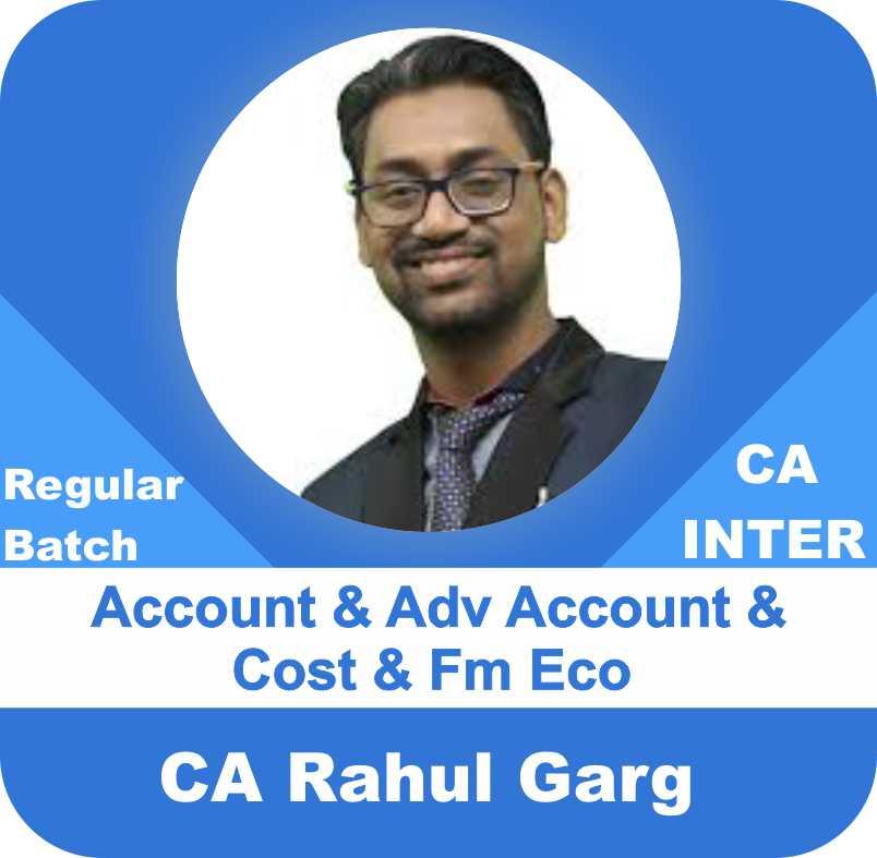 Account & FM Eco & Cost & Advance Account Regular Batch Combo