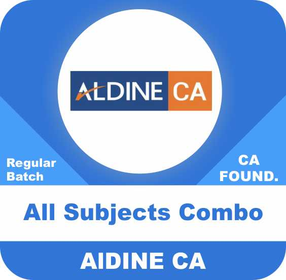 CA Foundation All subjects Regular Batch combo