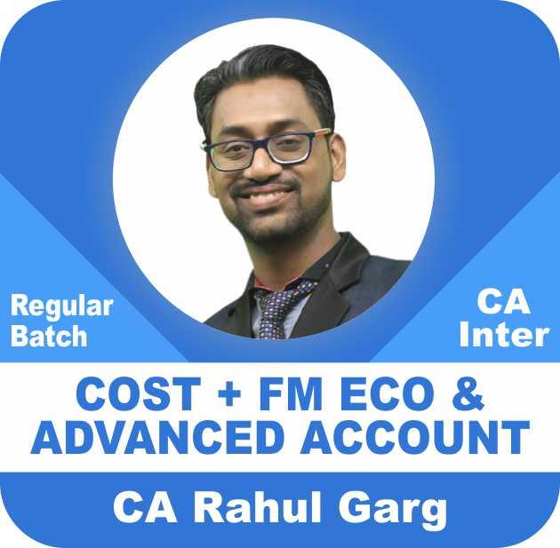 Cost & FM Eco & Advance Account Regular Batch Combo