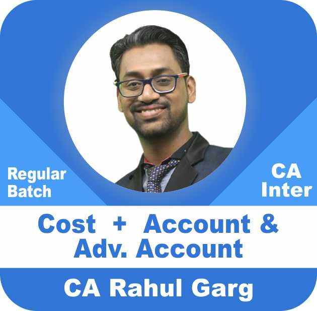 Cost & Account & Advance Account Regular Batch Combo