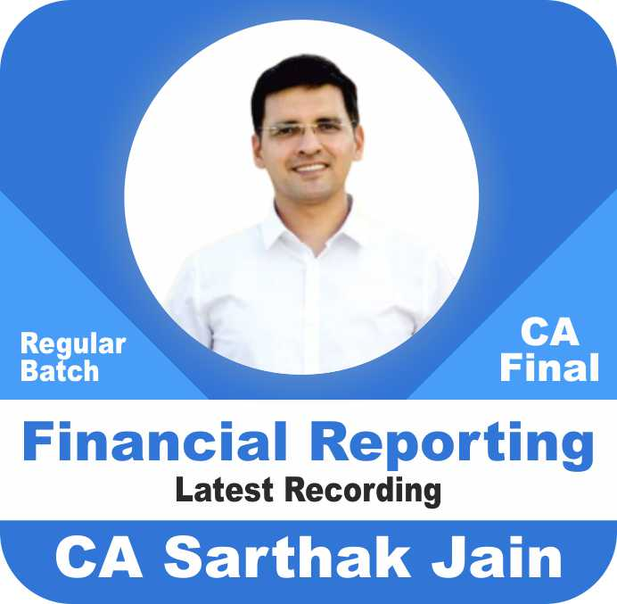 Financial Reporting Latest Live at Home Batch (50% Live + 50% Recorded)