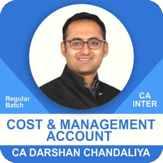 Cost & Management Accounting Regular Batch ( May 2021 - November 2021)