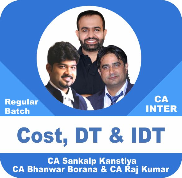 Cost & Indirect Tax & Direct Tax Regular Batch Combo