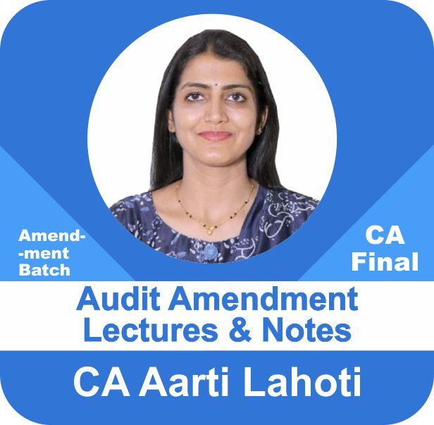 Audit (Amendment Lectures with Notes)