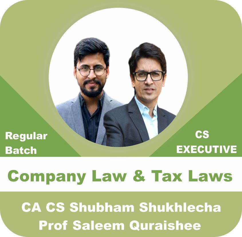 Company Law & Tax Law and GST