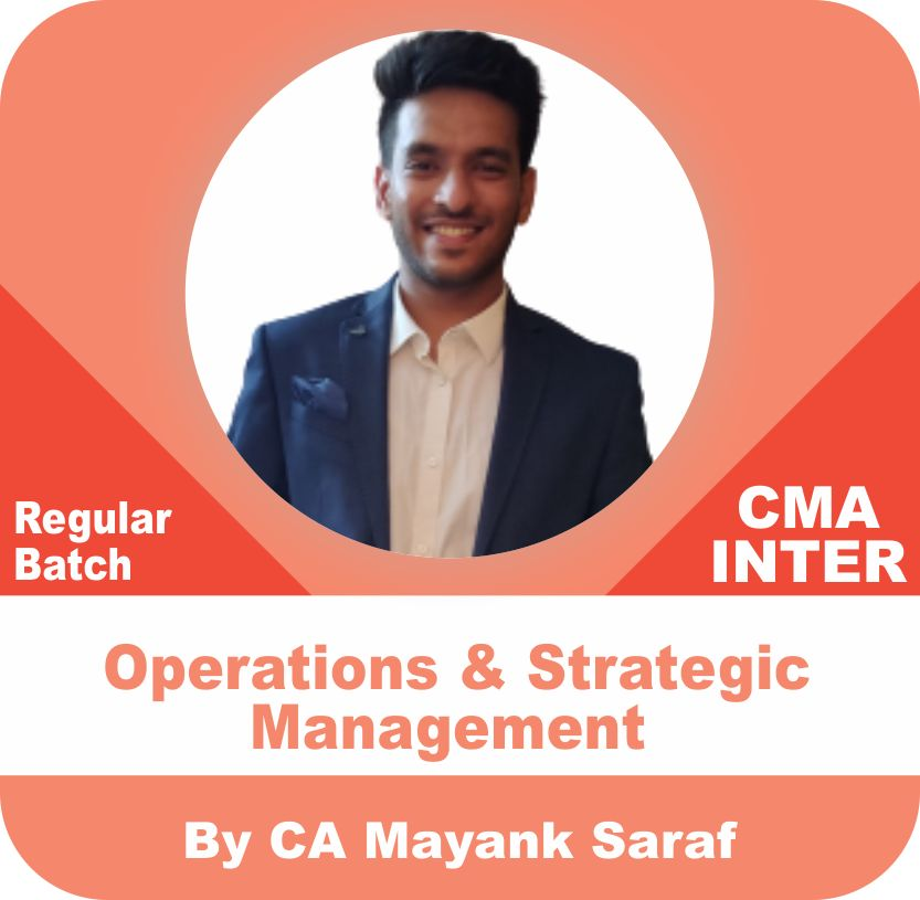 Operations and Strategic Management (Paper 9)