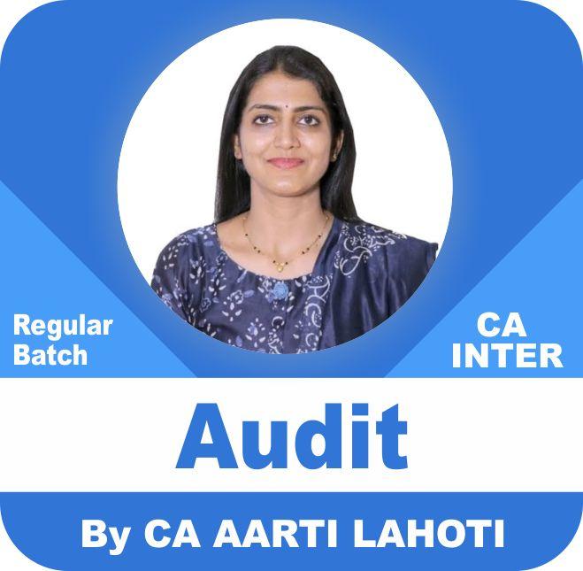 Auditing and Assurance Regular Batch ( 1.2 & 3 Views)