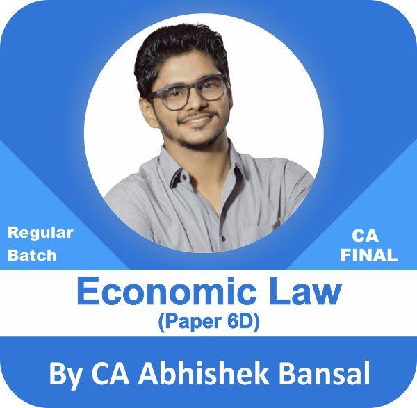 Economic Laws Paper 6 (D) Regular Batch
