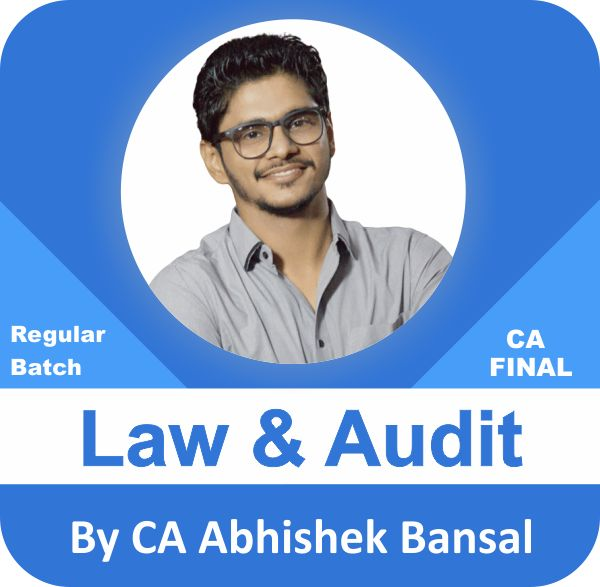 Law (2 View) & Audit (2 View) Regular Batch Combo