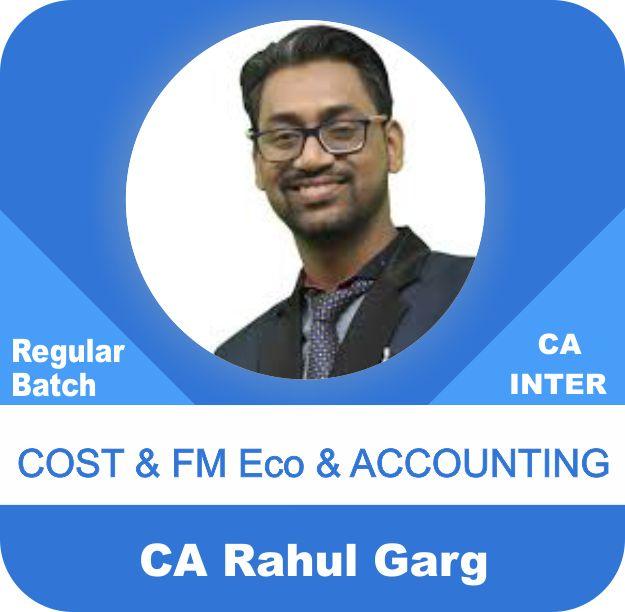 Cost & FM Eco & Accounting Regular Batch