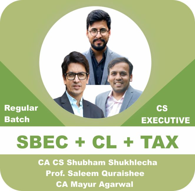 SBEC + CL + TAX (Module 1 Combo)