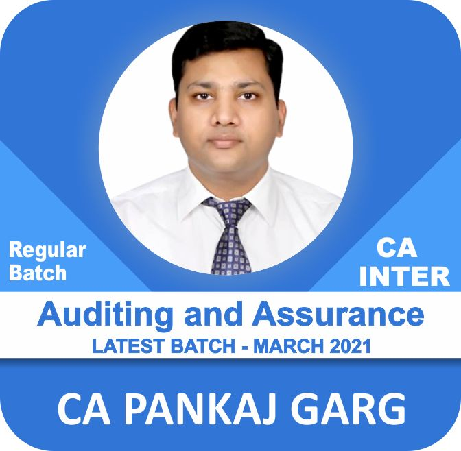 PRE BOOK - Audit & Assurance (March 2021 Batch) Nov. 2021 and May/Nov. 2022 Exams