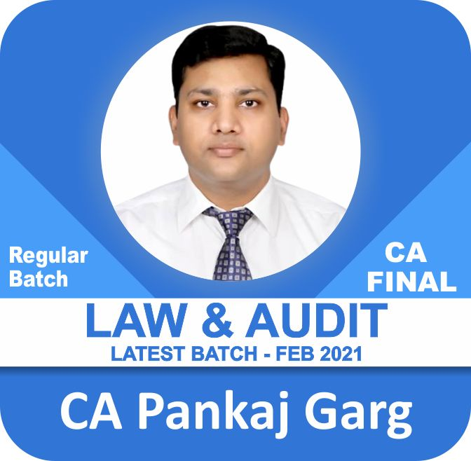 Special Combo Offer - Audit & Law - Regular Batch (Feb. 2021 Batches for Nov. 2021/May & Nov. 2022 Exams)