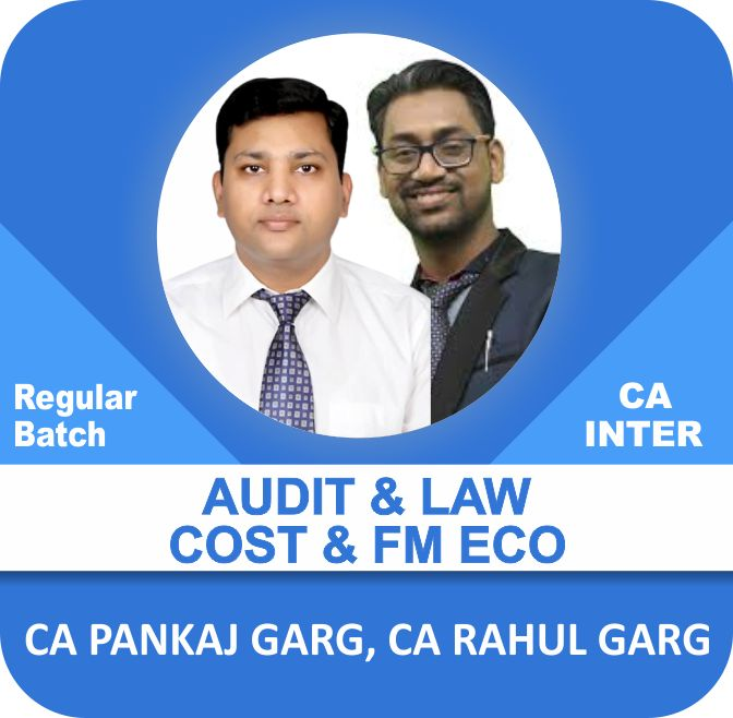 Audit & Law and Cost & FM Eco Regular Batch Combo