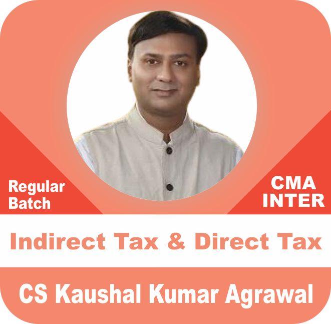 Indirect Tax & Direct Tax Regular Batch Combo