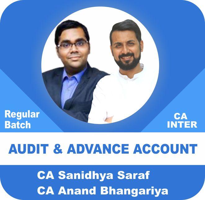 Audit (2 View) & Advance Account (1.5 View) Regular Batch Combo