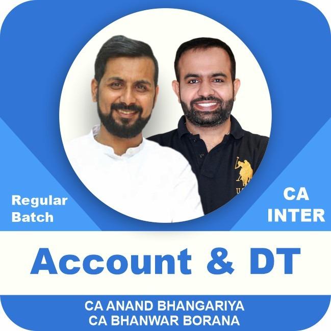 Accounts & Direct Tax Latest Regular Batch Combo