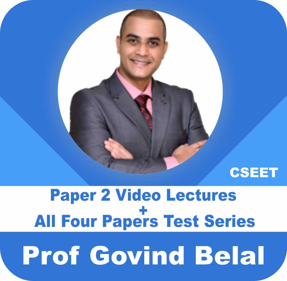 Paper 2 LALR : Video Lectures & e-Notes + All 4 Papers : Test Series & e-Notes (of 5000+ MCQ's)