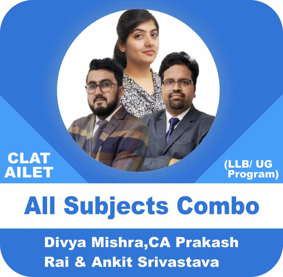 All Subject Combo for CLAT and AILET