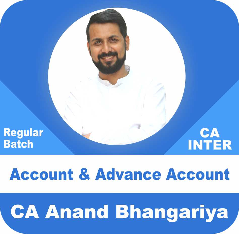 CA Inter Group One And Group Two Accounts Combo By Anand Bhangariya
