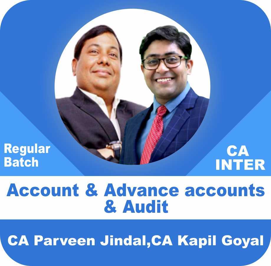 Accounts & Advance Accounts and Audit Regular Batch Combo