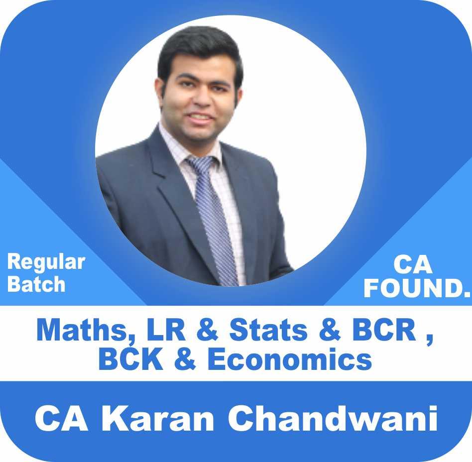 Maths, LR & Stats + BCR , BCK & Economics Combo