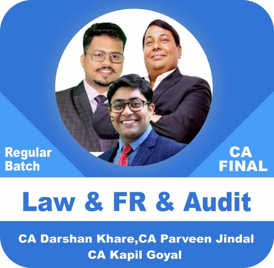 Law & FR & Audit Regular Batch Combo