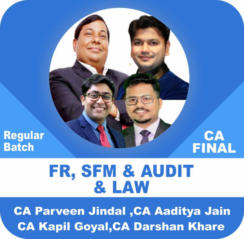 FR , SFM , Audit & Law Regular Batch Combo