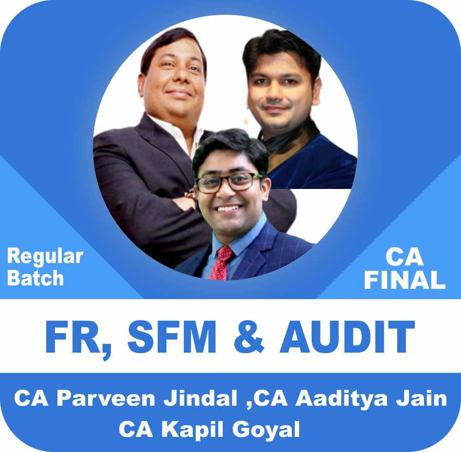 FR , SFM & Audit Regular Batch Combo