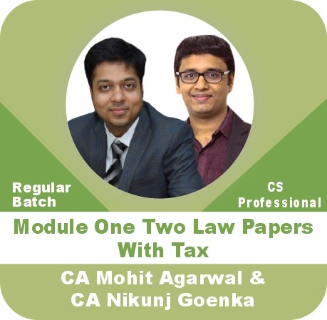 (Module - 1)  2 Law Papers With Tax Combo