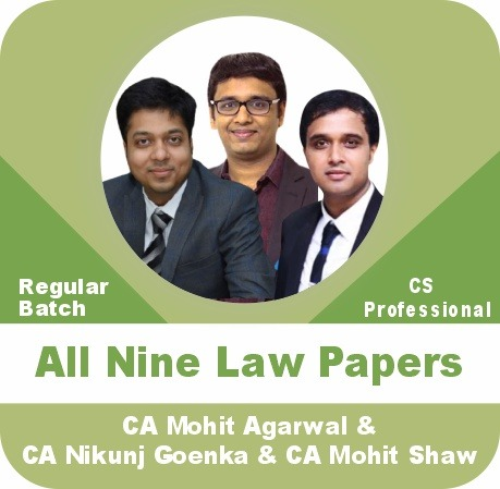 All 9 Law Papers Regular Batch Combo