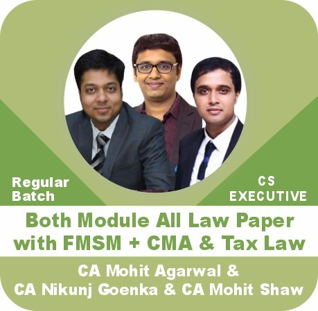 Both Module All Law Paper with FMSM + CMA + Tax Law Combo