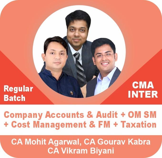 Company Accounts & Audit + OM SM + Cost Management &  FM + Taxation (IDT & DT)