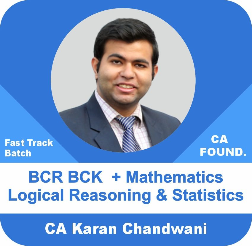BCR & BCK + Mathematics Logical Reasoning and Statistics