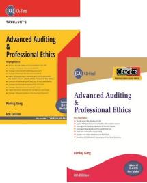 Combo Advanced Auditing and Professional Ethics (Main Book & Cracker)