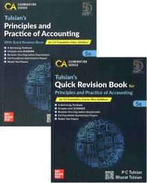 Principles and Practice of Accounting With Quick Revision Book