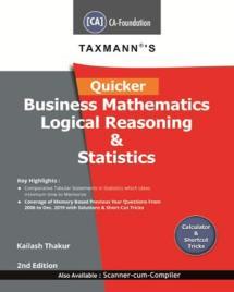 Quicker Business Mathematics Logical Reasoning & Statistics