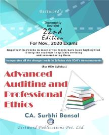 Advanced Auditing and Professional Ethics (New Syllabus)