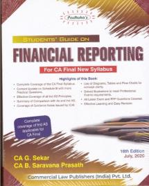 Students Guide on Financial Reporting (New Syllabus)