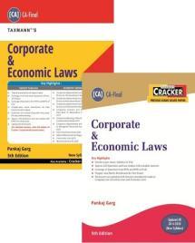 Combo Corporate & Economic Laws (Main Book & Cracker)