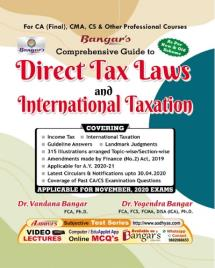 Comprehensive Guide to 'Direct Tax Laws & International Taxation'
