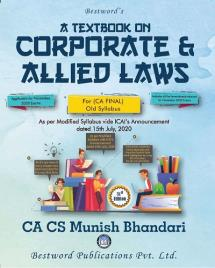 A Textbook on Corporate And Allied Laws